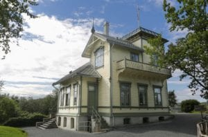 Troldhaugen, home of the famous composer Edvard Grieg in Bergen, Norway